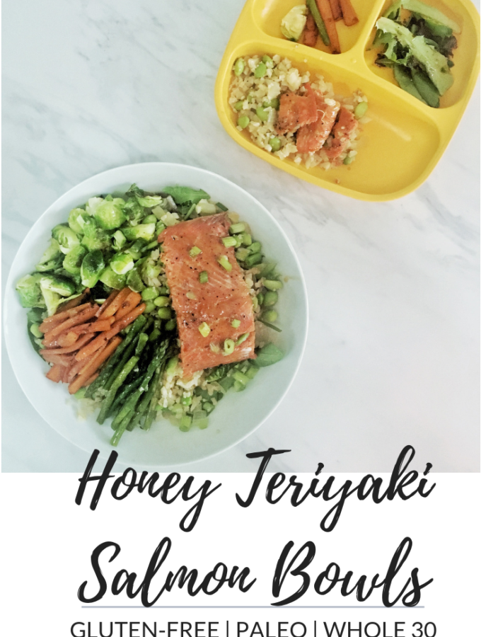 Honey Teriyaki Salmon Bowls