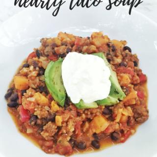 Hearty Taco Soup