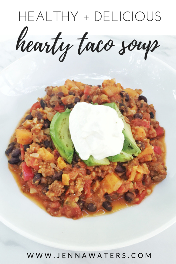 Hearty Taco Soup